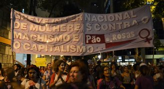 Falam as mulheres do Rio no ato internacional do 8M