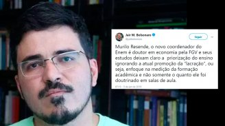 Novo coordenador do Enem escancara obscurantismo do governo Bolsonaro