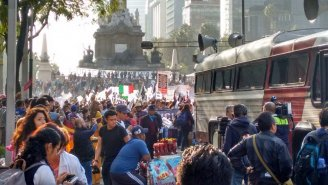 Cidade do México: grande marcha contra o Gasolinazo de Peña e as multinacionais