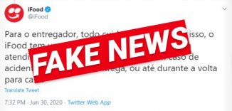 Desmentindo as mentiras do Ifood, desesperado com o breque dos apps