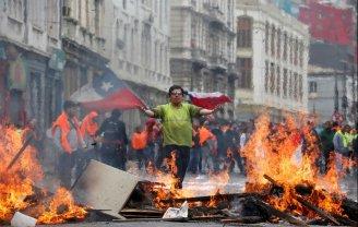 O movimento de trabalhadores antes e durante a rebelião popular de 2019 no Chile