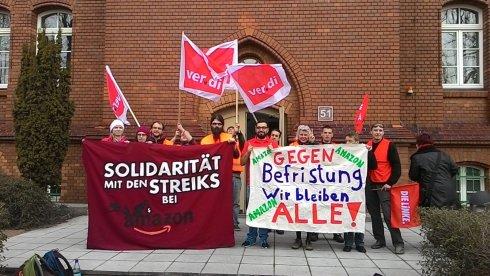Amazon: trabalhadores em luta preparam novas greves