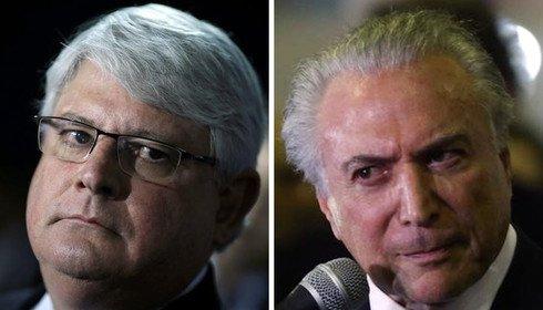 Em seu útimo dia, Janot pede pena mais alta para Temer afirmando liderar quadrilha do PMDB