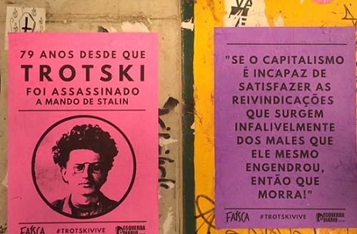 Na UFMG, Faísca homenageia Trotski a 79 anos do seu assassinato