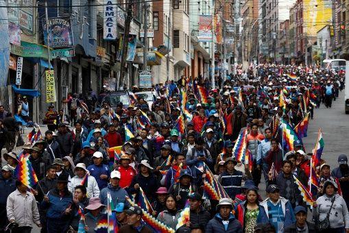 Bolívia: luta de classes entre o golpismo e o MAS