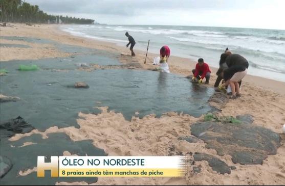Novas manchas de óleo surgem no RN, desmentindo Mourão ministros de Bolsonaro