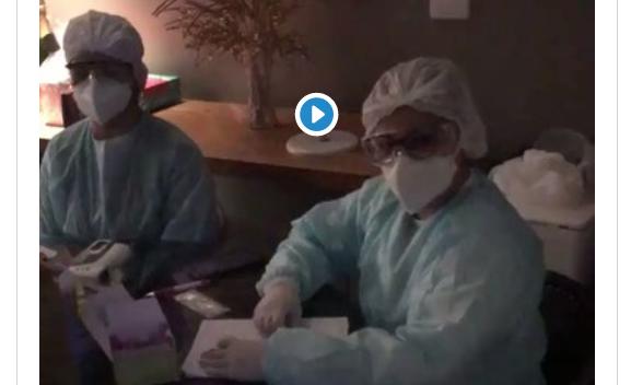 VÍDEO: Enquanto faltam exames de Covid-19 nos hospitais, festa de elite em Brasília tem testes na entrada