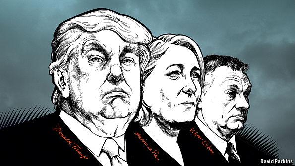 Trump, Le Pen e o 'momento populista' da direita xenófoba?