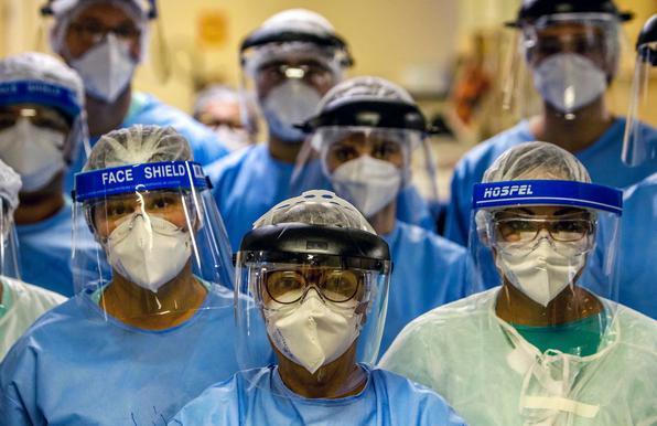 Pernambuco: 814 trabalhadores da saúde infectados em 24h