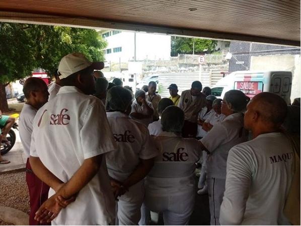 Terceirizados da saúde de Natal-RN deflagram greve contra atraso nos salários