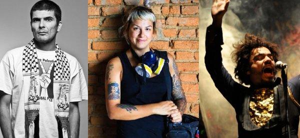 Veja artistas que apoiam e se somam à campanha da Bancada Revolucionária em SP