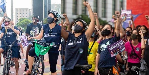 Legalização da maconha marca bicicletada na Av. Paulista convocada pela Bancada Revolucionária