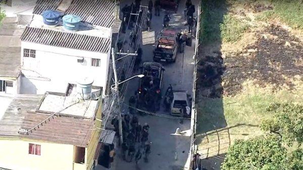 Operação policial em Quintino, Zona Norte do Rio, deixa 10 mortos