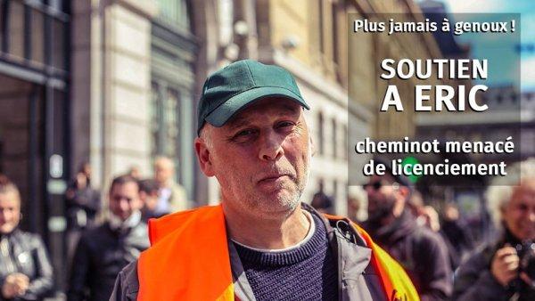 França: Em plena pandemia, Ministério do Trabalho quer autorizar a demissão de Eric Bezou, ferroviário e militante sindical