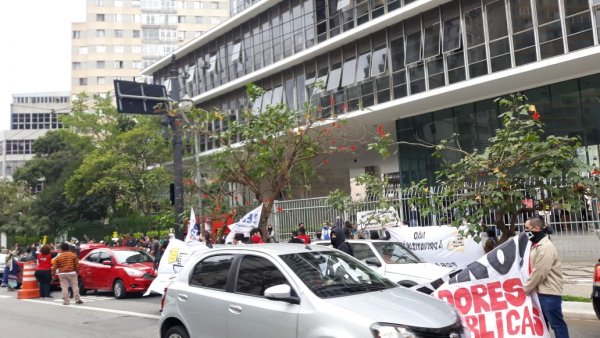 URGENTE: PL 452 privatizante da educação de Covas passa na CCJ em meio à protesto