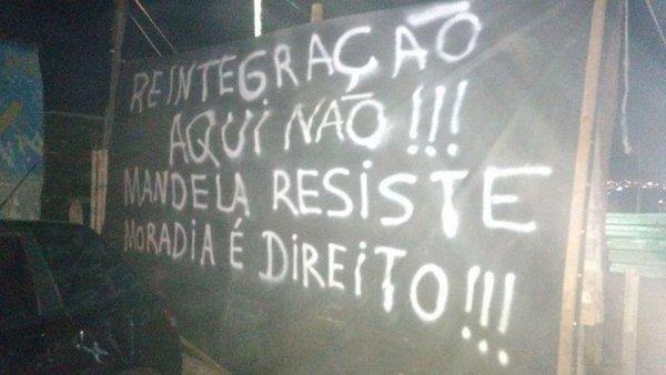 Jonas Donizette quer jogar as famílias da Ocupação Mandela na rua em meio à pandemia