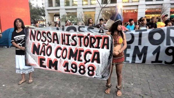 """Diana Assunção: """"Marco temporal representa ataque monstruoso do STF golpista aos indígenas"""""""