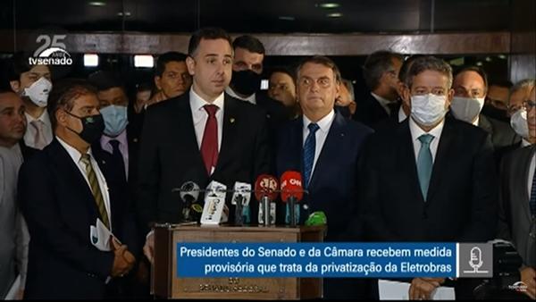 Privatização da Eletrobrás avança: Lira abrirá discussão no Congresso na próxima semana