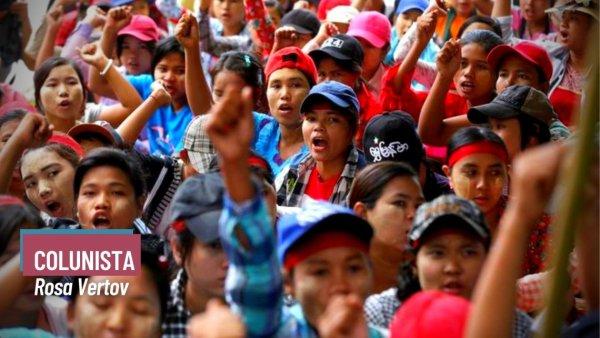 Mianmar: as mulheres na linha de frente