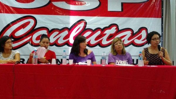 Coordenação Nacional da CSP-Conlutas debate sobre a legalização do aborto