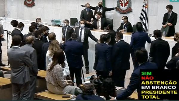 PL 529 privatista de Doria não é posto em votação por falta de quórum na ALESP
