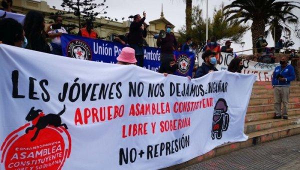 Chile: foi lançado o Comando por uma Assembleia Constituinte Livre e Soberana