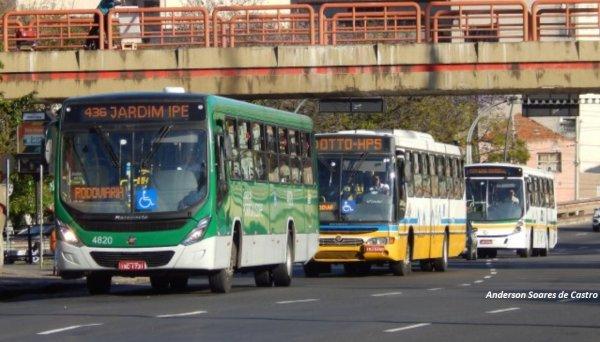 Rodoviários são massacrados em Porto Alegre com demissões e redução salarial