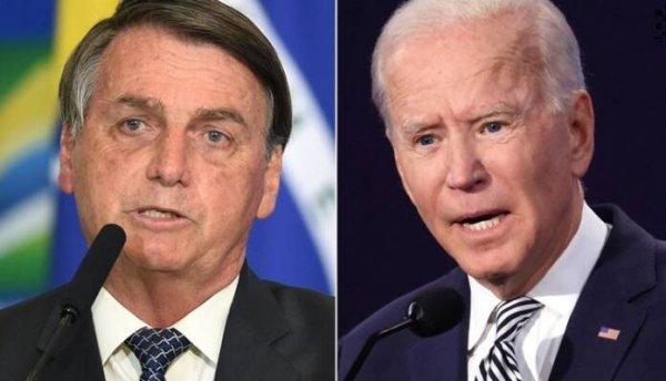 """Bolsonaro ameaça Biden com """"pólvora"""" na disputa entre quem mais lucra com a Amazônia"""