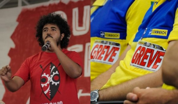 """Marcello Pablito: """"Todo apoio à greve dos Correios contra as privatizações e ataques de Bolsonaro"""""""
