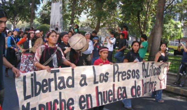 Chile: Polícia reprime povo mapuche, invade casas e detém cidadãos sem provas