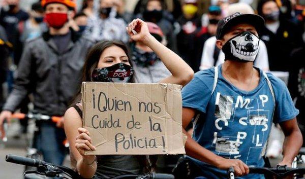 A rebelião contra a maldita polícia na Colômbia