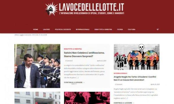 Organizações simpatizantes na Costa Rica, no Perú e na Itália