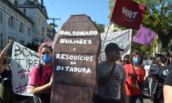 Rumo à plenária do dia 14 na UFRGS: Contra Bulhões e o regime universitário antidemocrático, por uma estatuinte livre e soberana!
