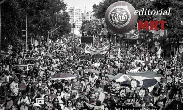 Chamado à esquerda para construir um 1º de Maio classista e independente, pelo Fora Bolsonaro e Mourão