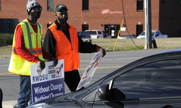 Amazon está desesperada para impedir a campanha de sindicalização no Alabama
