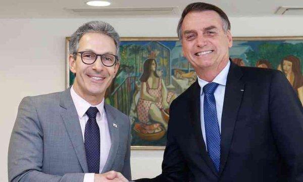 Para Zema, as críticas a Bolsonaro na desastrosa condução da pandemia são exageradas