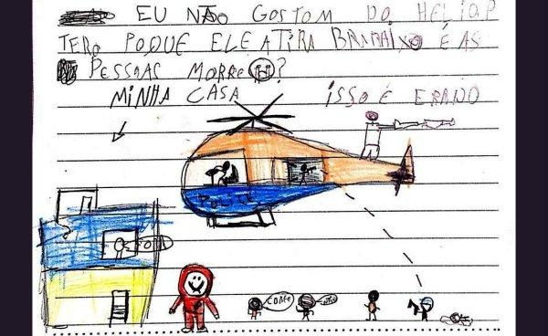 Cartas de crianças da Maré pedem fim da violência policial, que cresce no RJ de Witzel