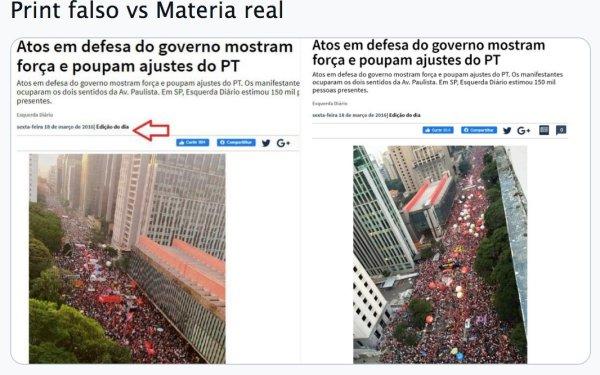Bolsonaristas falsificam matéria do Esquerda Diário de 2016 para caluniar atos do 29/05
