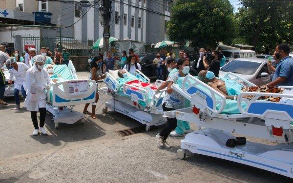 Vítimas do incêndio no hospital carioca estavam em tratamento lutando contra a COVID