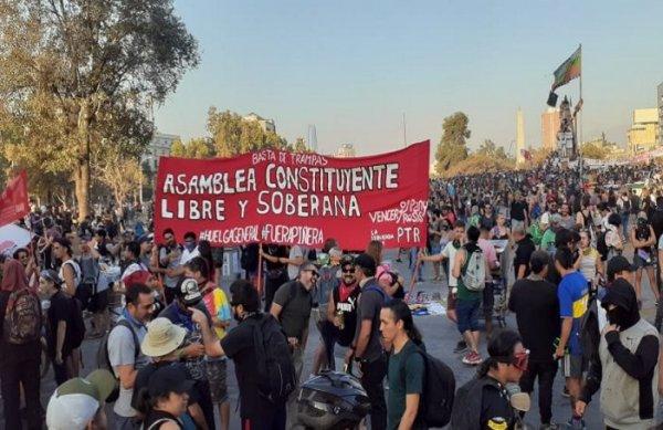 Chile: Por uma frente das e dos trabalhadores e esquerda anticapitalista