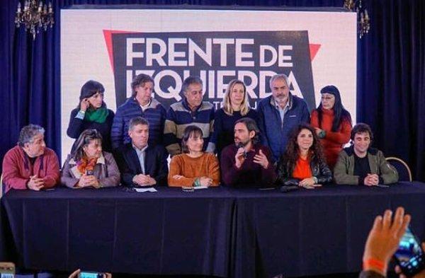 """Del Caño: """"Nossa importante votação servirá para fortalecer as lutas da classe trabalhadora frente aos ataques que estão vindo"""""""