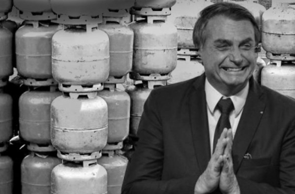 Bolsonaro diz que botijão poderia custar R$60 a R$70, mas gás poderia ser muito mais barato