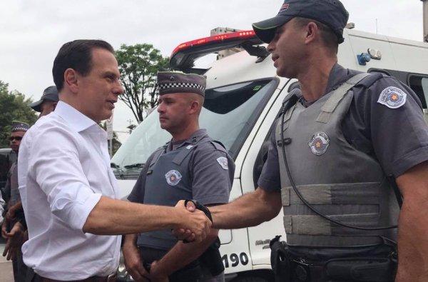 """Doria irá garantir impunidade aos policias do massacre de Paraisópolis, PMs serão """"preservados"""""""