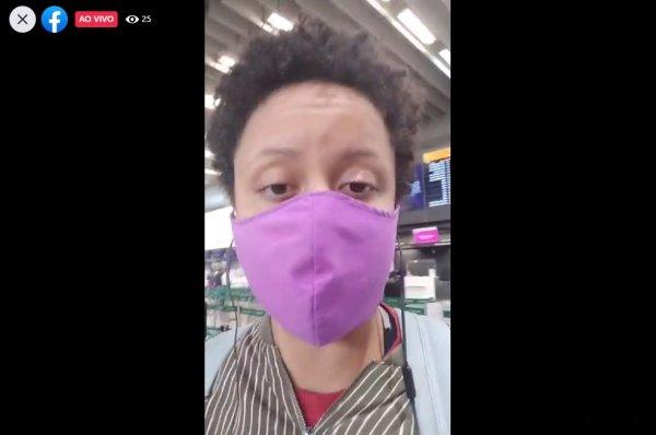 Veja transmissão ao vivo no aeroporto de Guarulhos contra as demissões na LATAM