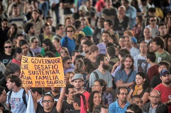 """Precarização dos professores """"categoria O"""": resultado do desmonte de Alckmin"""