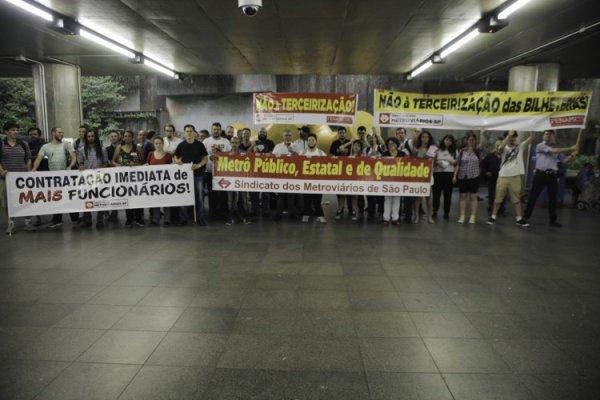 Eleições da CIPA no Metrô de SP acontecem em meio a ataques da privatização