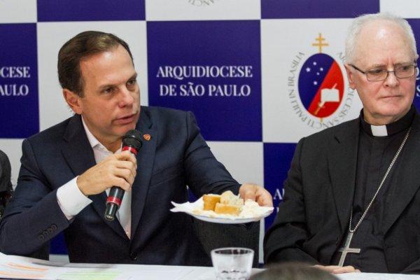 Dória quer avançar com privatização, terceirizando até a merenda das crianças de SP