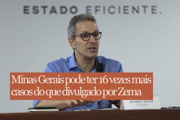 Estudo aponta: governo Zema é um dos que mais esconde casos e mortes por COVID-19 no país