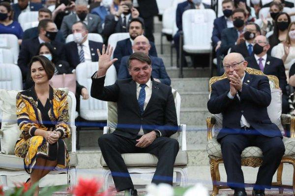 Em evento com líderes evangélicos, Bolsonaro reafirma promessa para próxima vaga do STF
