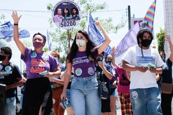 Bancada Revolucionária faz forte eleição com 5 mil votos em campanha contra o regime do golpe
